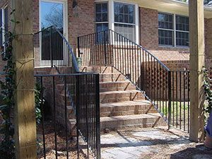 Handrails Charlotte NC | Allison Fence Company