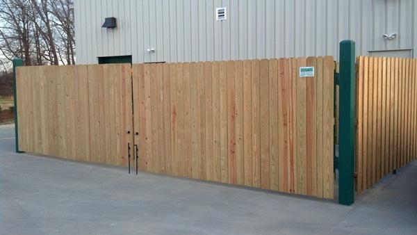 Dumpster Enclosures Allison Fence Company