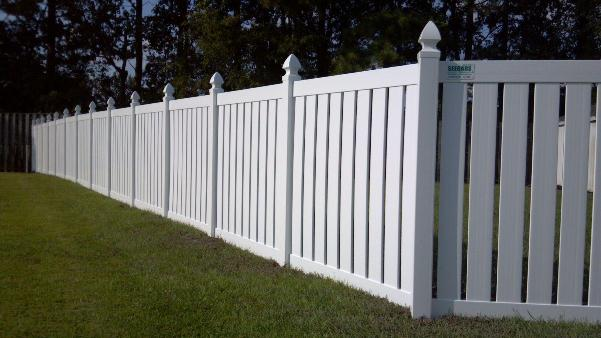 Vinyl fencing charlotte nc allison fence company - Pvc fencing solutions ...