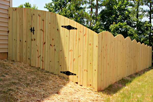 Wood for fencing reseal a weathered fence